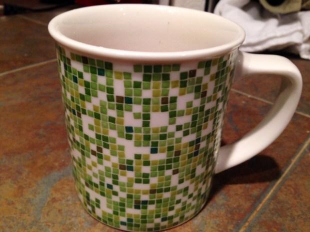 double chocolate peanut butter mug cake mug