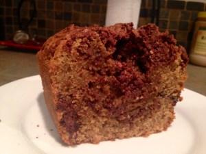 Chocolate Hazelnut Coffee Poundcake