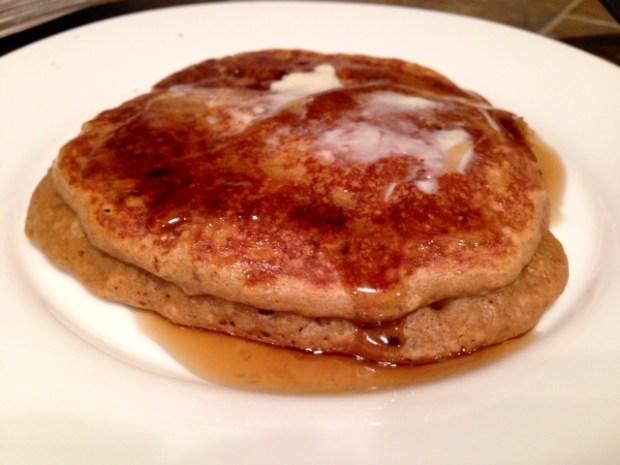 Coffee Pancakes done
