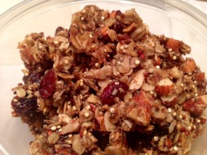 Quinoa Nut Maple Granola