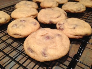 Soft Chewy Chocolate Chip Cookies