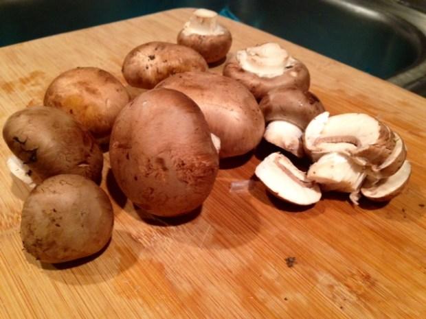 coq au riesling mushrooms