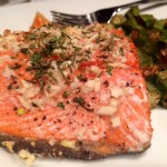 Rosemary & Garlic Roasted Salmon