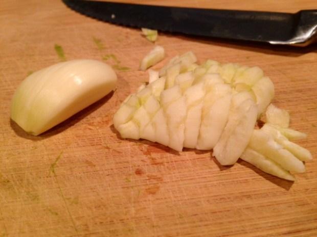 kale & walnut pesto with whole wheat pasta garlic