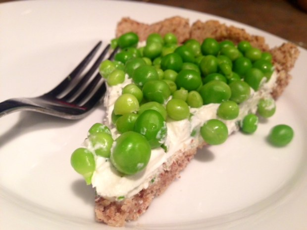 Herbed Goat Cheese & Spring Pea Tart2
