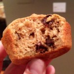 Banana Chocolate Coffee Muffins with Whole Wheat Flour