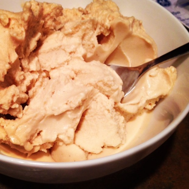 Peanut Butter & Honey Ice Cream with Sea Salt