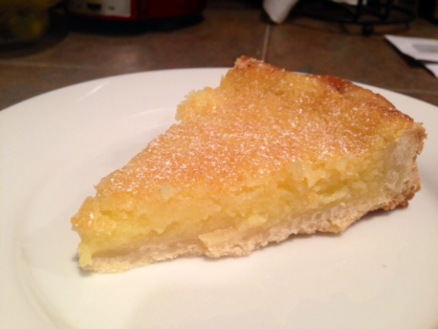 Whole Lemon Tart slice