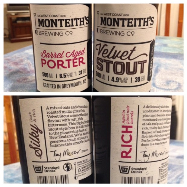 monteith beers