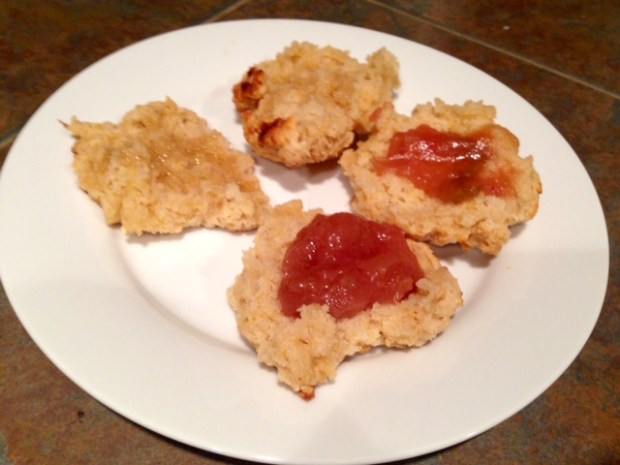 Easy Drop Biscuits with Apple Butter