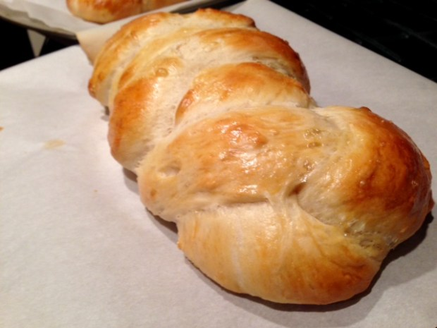 Easy, Awesome Challah Bread finished