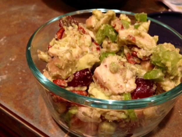 Whole30 Avocado Sonoma Chicken Salad