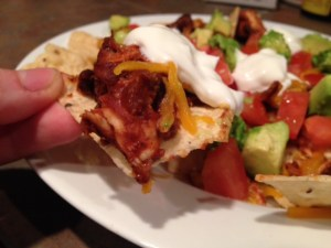 Chicken Nachos Bite