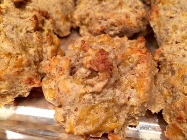 Gluten-Free Garlic Cheddar Biscuits
