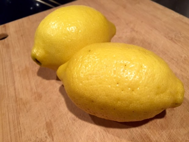 lemon cupcakes with raspberry frosting lemons
