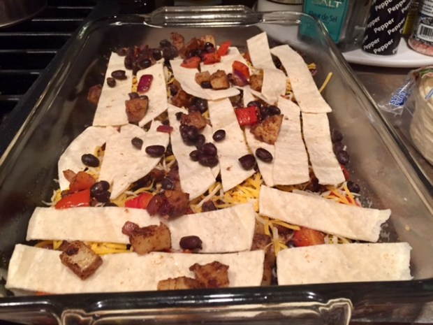 tex-mex-breakfast-casserole-assembly