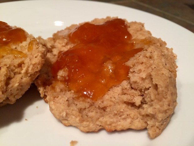 Healthy single-serving scones or biscuits