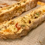 Orange, Apricot, & Pistachio Biscotti