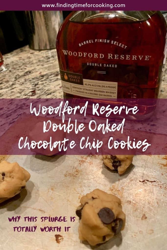 woodford reserve double oaked chocolate chip cookies