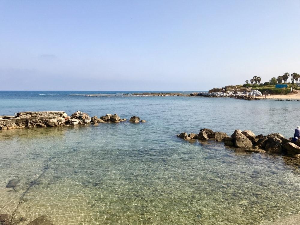 caesarea beach