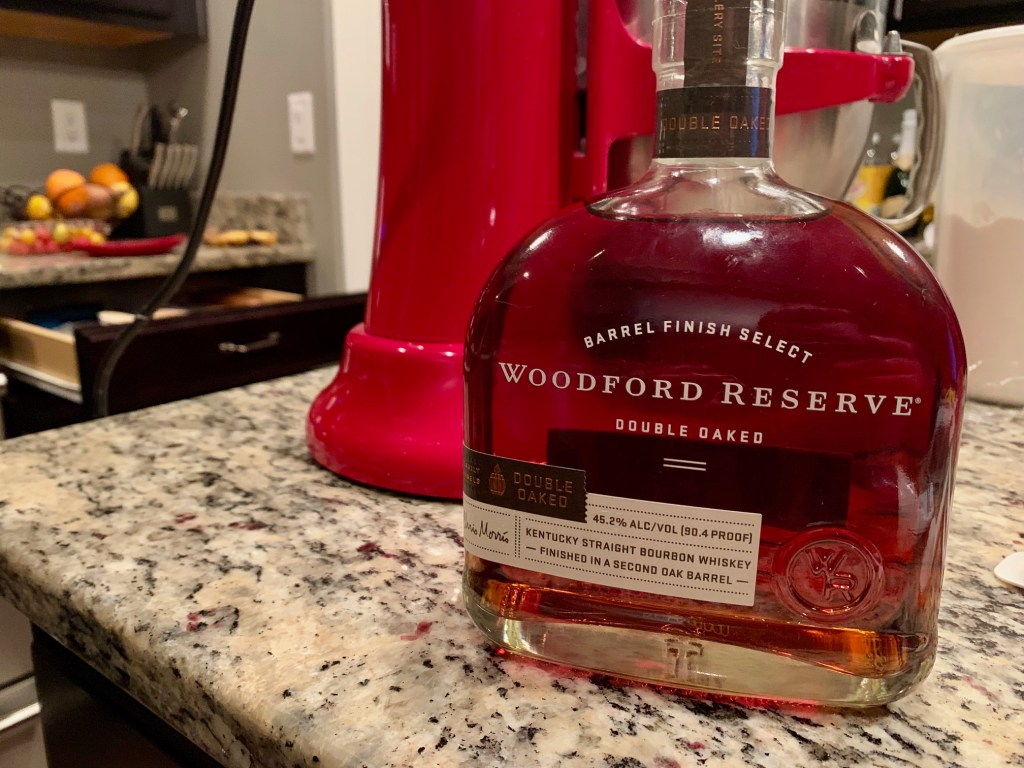 Delicious Woodford Reserve Double Oaked bourbon!