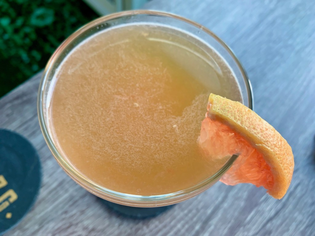 The Brown Derby is a delicious bourbon grapefruit cocktail