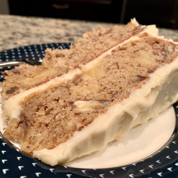 Classic Hummingbird Cake With Cream Cheese Frosting
