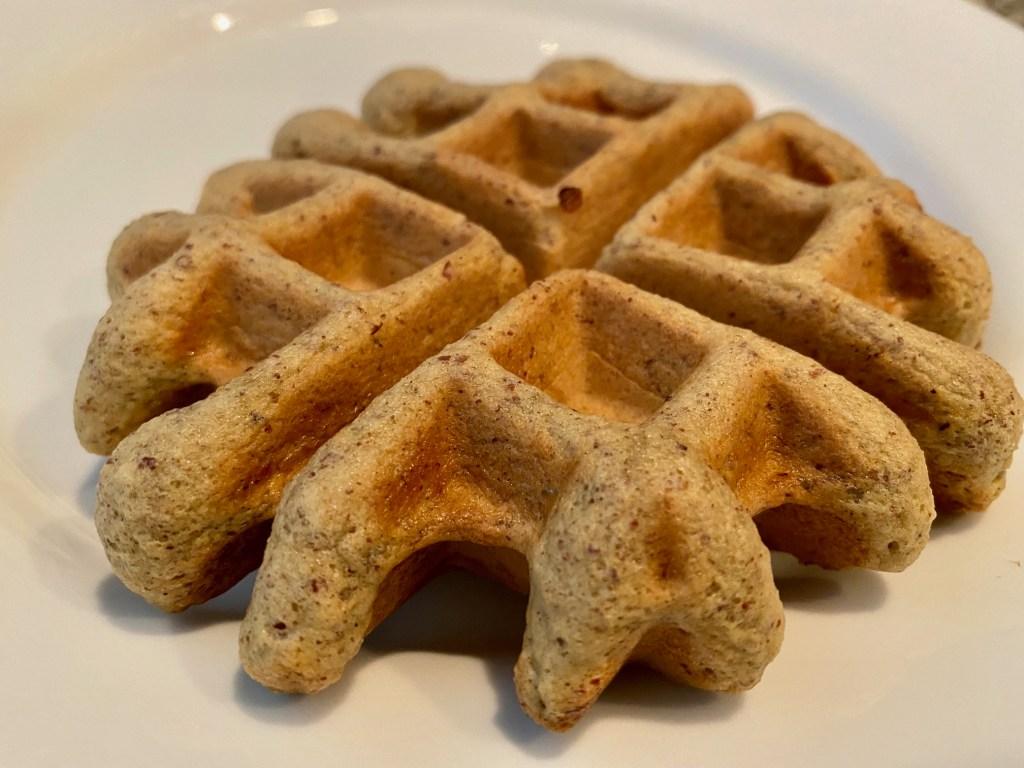 keto waffle in five minutes...perfect keto breakfast