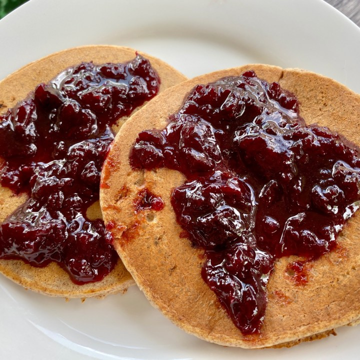 Easy Bourbon Cherry Jam (With or Without Pectin)