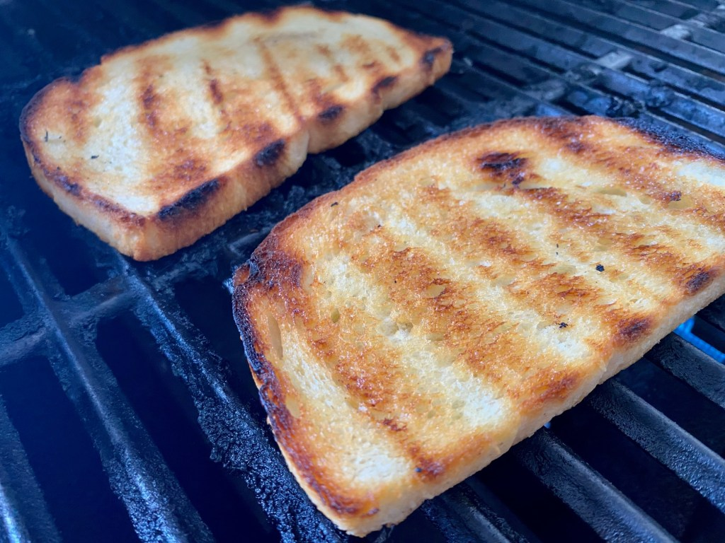 How to make grilled sourdough bread for ricotta toast