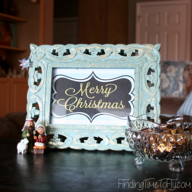 Free Christmas Printables in Blue