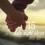 15 Date Night Ideas Under $20