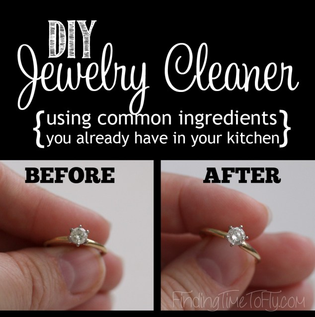 DIY Jewelry Cleaner