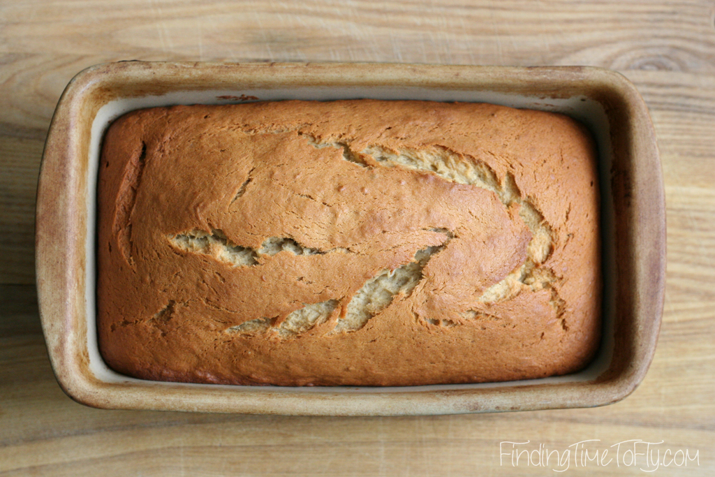 one bowl banana bread-12