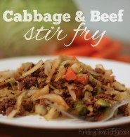 Cabbage and Beef Stir Fry-1