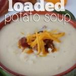 Instant Loaded Potato Soup