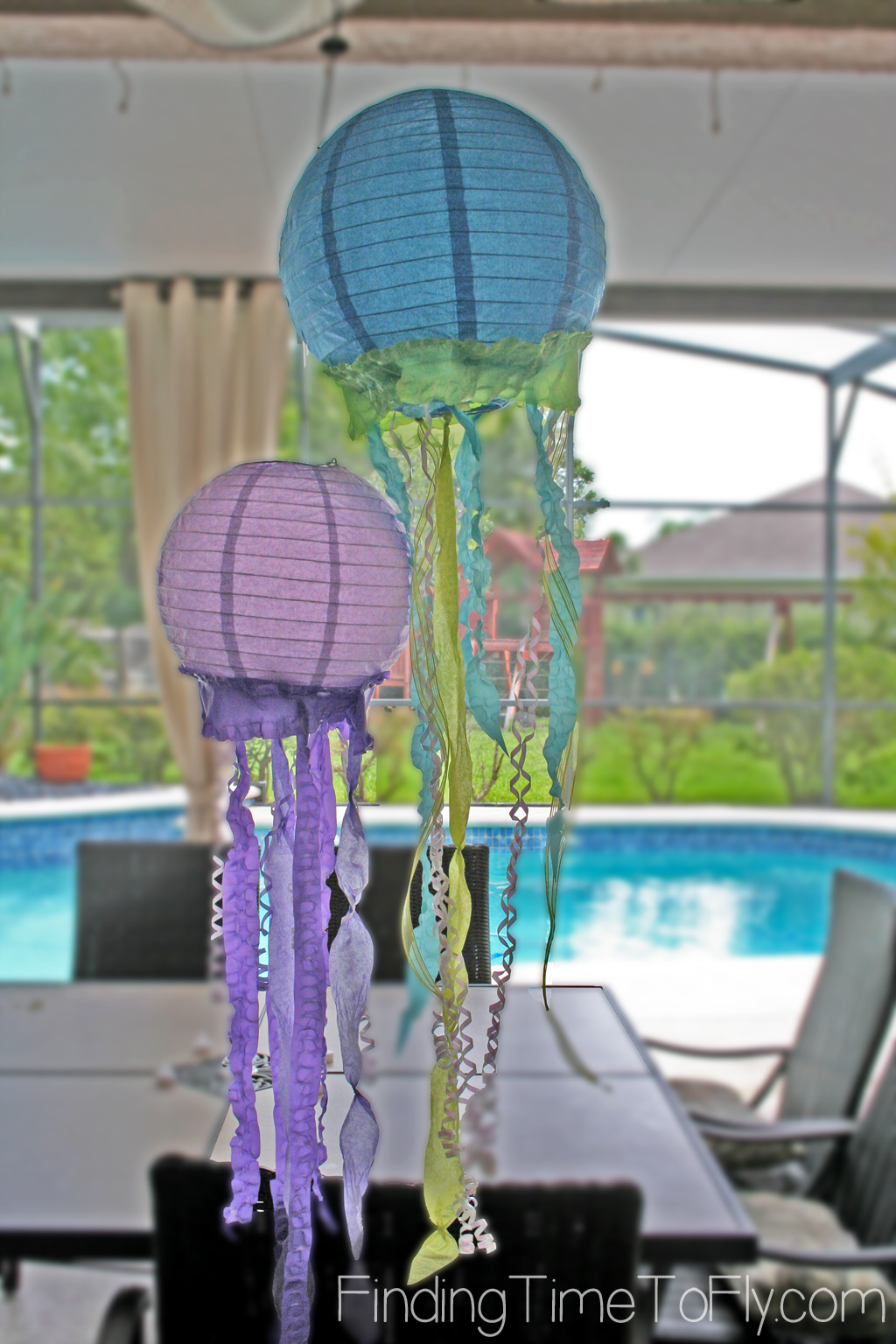 How To Make Jellyfish Lanterns Finding Time To Fly