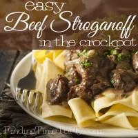 easy beef stroganoff