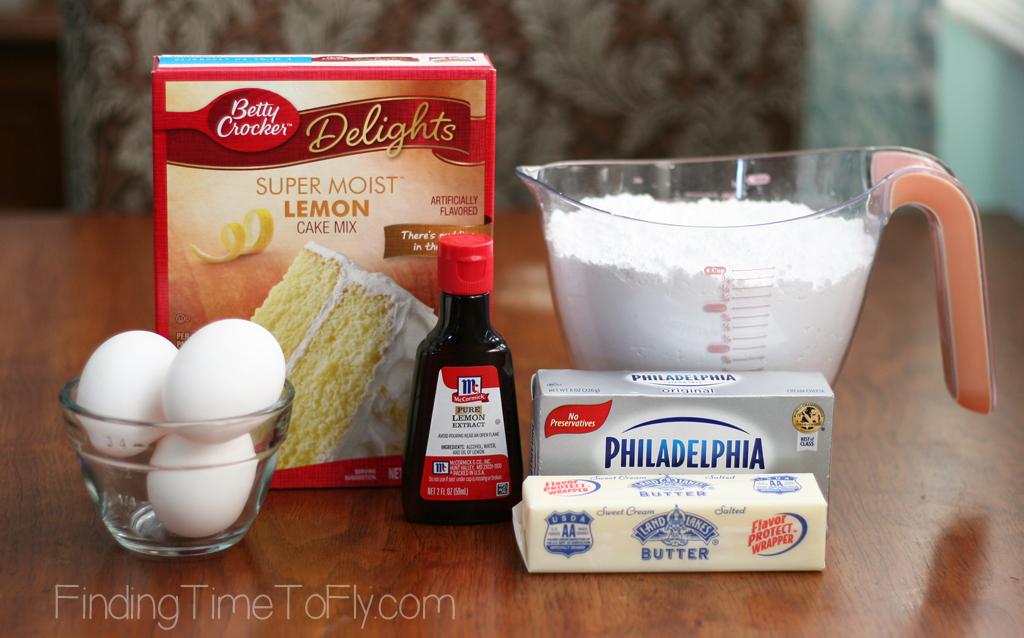 Gooey Lemon Bars using only 6 ingredients!