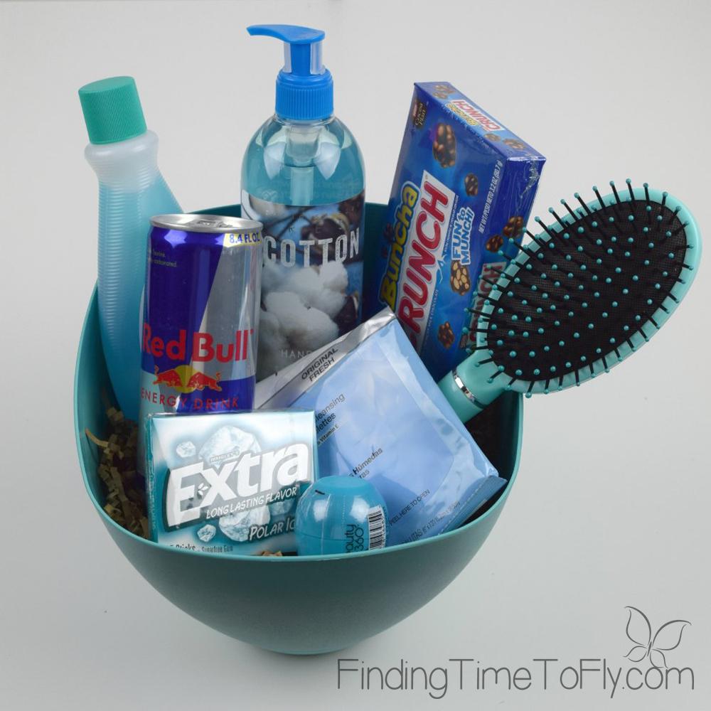 Diy Gift Baskets Color Themed Gift Baskets