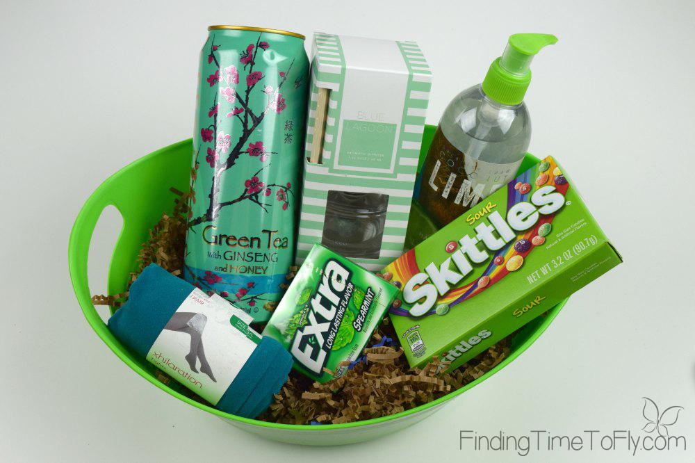 Green Themed Basket-1