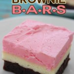 Neapolitan Brownie Bars