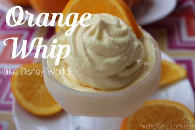 Orange Whip (like Disney World)