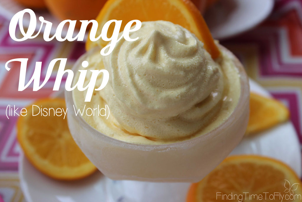 Seriously! You are five minutes and 3 ingredients away from making your own Orange Whip like Disney World! Simple and delicious for a hot summer day.