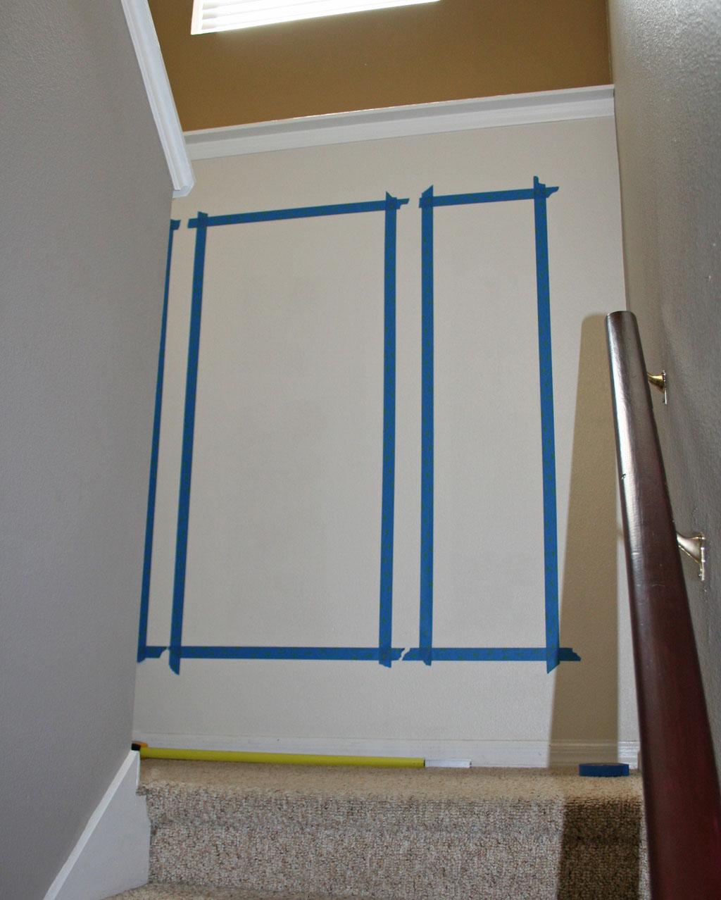 Stairway Landing Wall 3