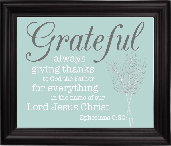 Grateful fall printable