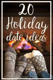 20 holiday date ideas you can really do. I like this list!