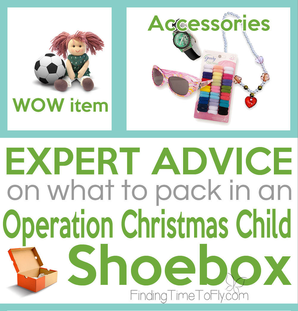 What To Pack in an Operation Christmas Child Shoebox - Finding Time ...