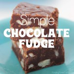 Simple Chocolate Fudge Recipe