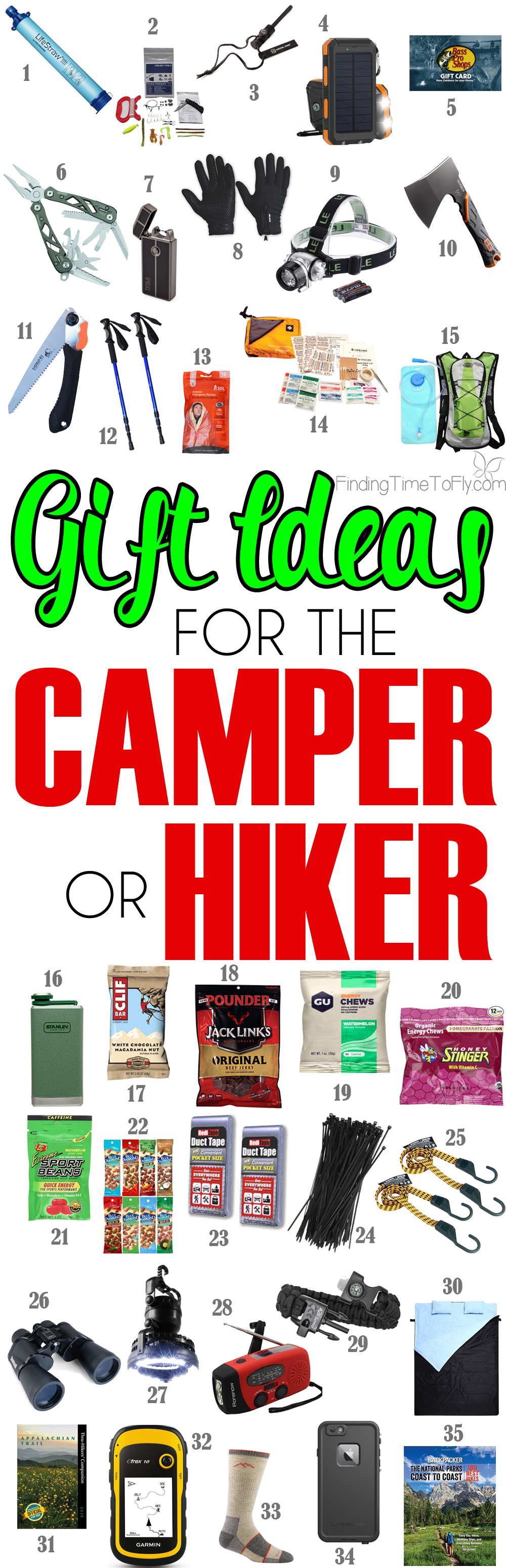 Christmas Gift Ideas For Outdoorsmen Part - 34: These Are Great Gift Ideas For The Outdoorsman Who Loves To Camp And Hike!